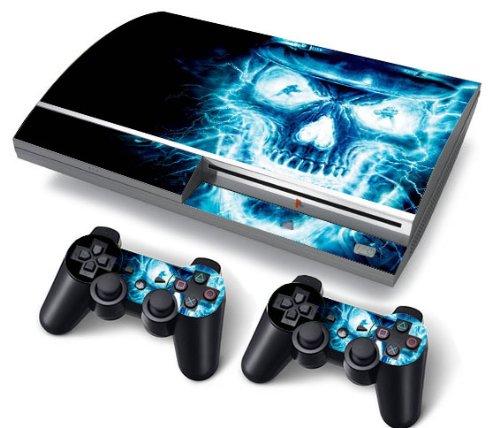 autocollant pour console de jeu playstation 3 original graisse d origine ps3 playstation 3. Black Bedroom Furniture Sets. Home Design Ideas