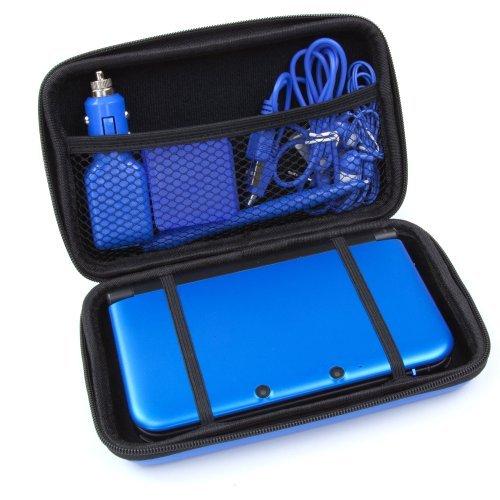 Pack accessoires deluxe 12 en 1 de transport housse pour for Housse nintendo 3ds xl